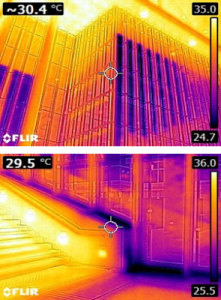 Stavros Niarchos Foundation Cultural Center IR Thermography